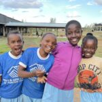 Lots of smiles at Grain of Rice Academy